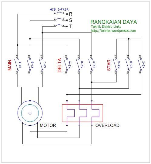 Wiring Diagram Panel Pompa Star Delta Wiring Schematic