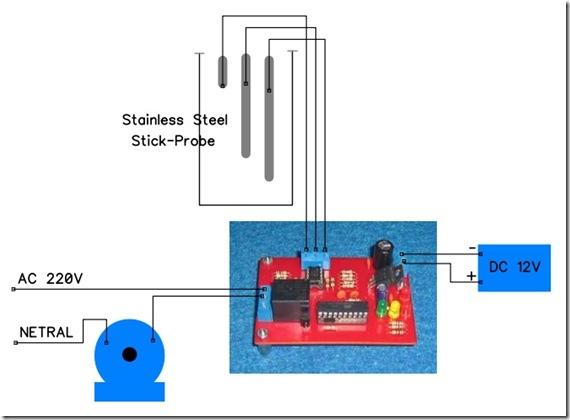 Kontrol Level Air Tandon Otomatis