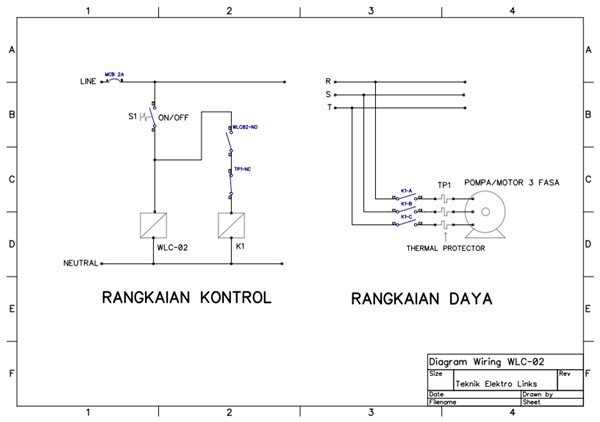 Wiring Diagram Panel Wlc : Wlc kontroler level air dengan sensor sumber