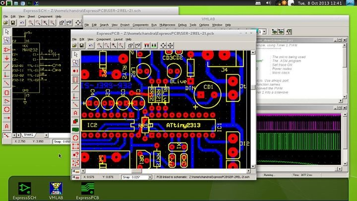 Menggambar skematik dan layout pcb menggunakan software for Software di layout di costruzione gratuito