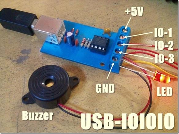 USB-IOIOIO testing