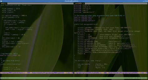 Pemrograman USB-SHT85